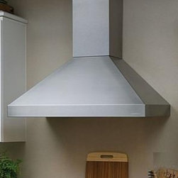 """Vent-A-Hood - Euroline Series PDH14-236 36"""" Chimney Style Wall Mount Range Hood With 600 CFM I - Vent-A-Hood makes the perfect range hood for today39s motion-filled kitchen They are unmatched at whisking grease and heat-polluted air away from your cooking area Powerful enough for heavy-duty professional-style cooking equipment and proven quieter..."""