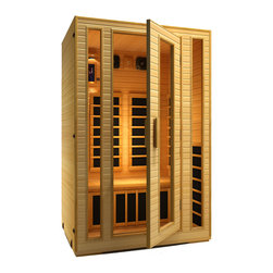 JNH Lifestyles - JNH Lifestyles 2014 2 Person Far-Infrared Sauna 7 Carbon Fiber Heaters - Product Description