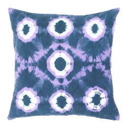 Rizzy Home - Black and Purple Decorative Accent Pillows (Set of 2) - T04423 - Set of 2 Pillows.