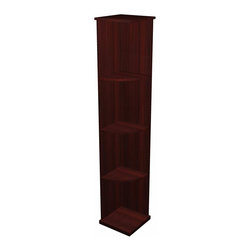 Wine Cellar Innovations - Designer Series Wine Rack - Quarter Round Shelf (Solid Material) - Quarter Round Display Shelves are perfect for displaying decanters, champagne buckets and fine wine accessories.