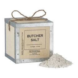Butcher Salt - This butcher salt is the kind of treat that a foodie might not bother to splurge on him/herself.