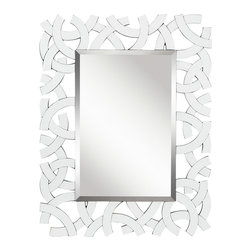 Kichler Lighting - Kichler Lighting 78207 Westwood Zeeba Mirrors in White - This Mirror from the Westwood Zeeba collection by Kichler will enhance your home with a perfect mix of form and function. The features include a White finish applied by experts. This item qualifies for free shipping!