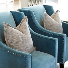Transitional Accent Chairs by Brooke Wagner Design