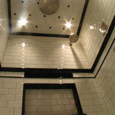 Eclectic Bathroom by Tilesmith, LLC