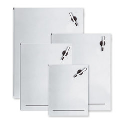 "Blomus - Muro Magnetic Dry Erase Boards - 15.7"" x 19.7"" - Note to self: Find a place to scribble important phone numbers, dates and times. Finding the perfect spot would take one more thing off your ""To Do"" list, wouldn't it? Consider it done. This magnetic dry erase board lets you jot down everything noteworthy and erase it just as easily."