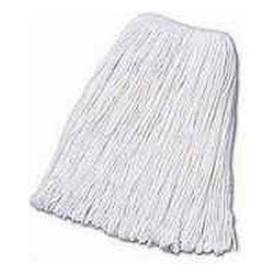 BOARDWALK - Mop Cotton 32 oz Band 1-1/4 Inch (12) - CAT: Mops, Brooms and Brushes Mops and Equipment Cut-End Mop Heads