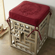 asian ottomans and cubes Asian Ottomans And Cubes