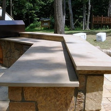 Modern Outdoor Grills by Sturgis Material Inc