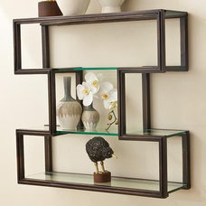 Traditional Display And Wall Shelves  by Candelabra