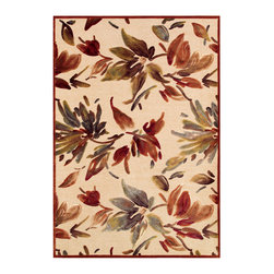 """Couristan - Cire` Watercolor Rug 1364/6282 - 2'7"""" x 7'6"""" - True works of art for your floor, these area rugs are designed to adorn traditional stylings, as well as contemporary. Use a secondary color found in the palette of the area rug as inspiration for wall paint and add throw pillows with similar textures, to add a designer flair."""
