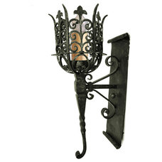 Mediterranean Wall Sconces by Hacienda Lights and Iron