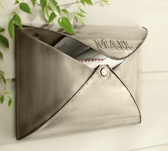 Contemporary Mailboxes by Pottery Barn