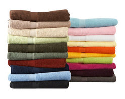 Towels By GUS - Bath Luxury American Cotton Towel, White, Hand Towel - Divinely detailed with crisp clean edging, our Bath Luxury American Cotton Towel is a moisture-seeking, densely-woven classic bath towel. This collection comes in a vast array of tones and hues that are certain to complement every bath - from modern to Victorian. Twisted lattice edging refines the appeal of this everyday durable classic.