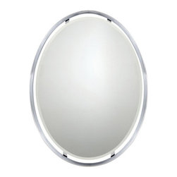 Quoizel - Quoizel Uptown Ritz Mirror 26W x 34H in. - UPRZ43426C - Shop for Mirrors from Hayneedle.com! About Quoizel LightingLocated in Charleston South Carolina Quoizel Lighting has been designing timeless lighting fixtures and home accessories since 1930. They offer a distinctive line of over 1 000 styles including chandeliers lamps and hanging pendants. Quoizel Lighting is the perfect way to add an inviting atmosphere to any area in your home both indoors and out.