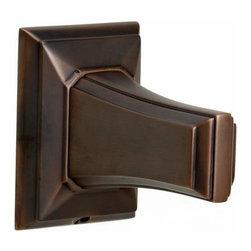 Alno Inc. - Alno Geometric 24 Inch Towel Bar Bronze - Alno Geometric 24 Inch Towel Bar Bronze