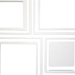 Wallter - Wallter Squares Large Wall Applications - Designed by ArrayPart of the Wallter Wall Applications Collection.Materials: Wood based; primed for paintingWallter wall applications are not available in colors - they are primed white for custom painting.