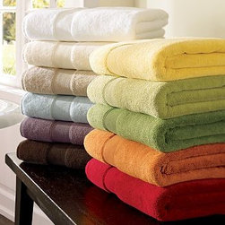 """PB Classic 820-Gram Weight Hand Towel, Plum - Our signature PB Classic Bath Towels are the softest and plushest you'll find. They're made of Turkish cotton terry, prized for its absorbency and texture. We've loomed it to a luxurious 820-gram weight. Towels may be monogrammed with up to three initials for an additional charge. Machine wash. Imported. Washcloth: 12'' sq. Hand Towel: 20 x 30'' Bath Towel: 28 x 55'' Bath Sheet: 39 x 71"""" Select items are Catalog / Internet Only"""