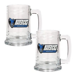 Great American NBA 15 oz. Glass Tankard Set - About Great American ProductsWith beginnings as a belt buckle maker in Texas, Great American products has become the leader in licensed metal emblems and the products that they adorn. With licenses with every major sports league, Great American products a wide range of unique products like drinkware, coolers, and kitchen accessories for the dedicated fan.