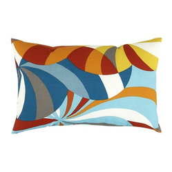 Alfresco Marimekko Spinning Indoor-Outdoor Pillow