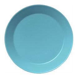Iittala - Teeme Dinner Plate, Turquoise - Classic ceramic dinner plates never go out of style. This modern take on the plate would be a lovely addition to any home. A set of these would be the perfect housewarming gift for a young couple just building a life together.