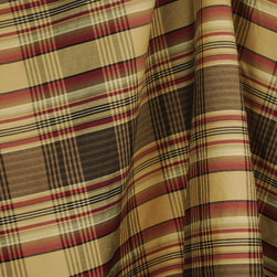 Anticipation 707 Black Red Plaid Fabric By The Yard - Anticipation 707 Plaid Fabric is a poly rayon blend drapery fabric. Great plaid for draperies, pillows and bedding.