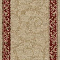 Concord Global - Jewel 27 Inch Runner Traditional Stair Runner - Stair & Hallway Runners Are Sold By The Linear Foot!