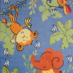LA Rug Inc - Night Flash - Your child's room is a natural extension of them. Add these innovative designs from Fun Rugs as a finishing touch to spruce up your child's decor.  Offering a vivid and eye appealing array of colors that will stimulate the mind and imagination of children of all ages.  You will be able to count the compliments of this high quality rug.  Spot clean using mild soap and cold water, not machine washable.