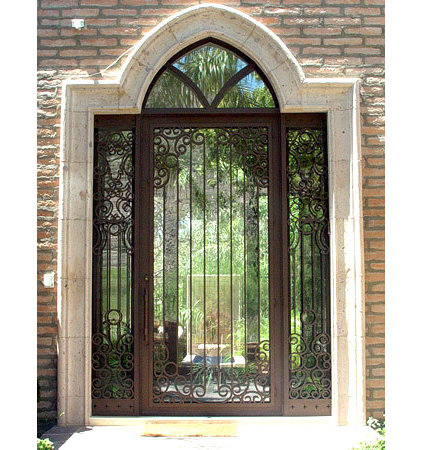 front doors by Colletti Design Iron Doors