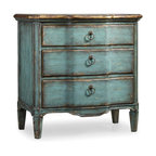 Hooker Furniture - Hooker Furniture Three-Drawer Turquoise Chest 500-50-878 - Three drawers