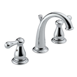 Delta - Delta 3575-MPU-DST Leland 2 Handle Lav Faucet - Delta 3575-MPU_DST is a two handle widespread lavatory faucet from the Leland collection in a Chrome finish. This faucet has a high arching spout which allows for great accessability. This faucet has coordinating products from the line to match up all of your plumbing accesories in the bathroom.