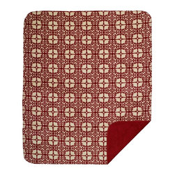 Throw Blanket Denali Morroccan/Garnet - Denali micro plush throws are considered the Cadillac of throws due to their rich colors and soft feel. These throws are softer and warmer than fleece.