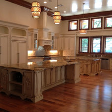 Traditional Kitchen Cabinetry by Dixieworkshop Inc.