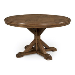 ART Furniture - Copper Ridge Round Dining Table - ART-177225-1503 - Copper  Collection Dining Table