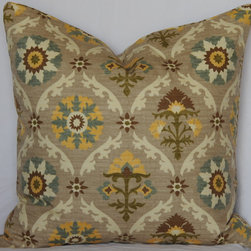 Mayan Medallion Pillow - Gorgeous PIllow by Cush Pillow Design