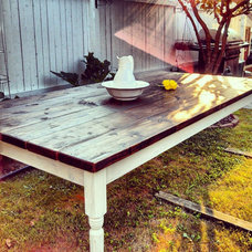 Traditional Dining Tables by Custom Timber Home Furnishings