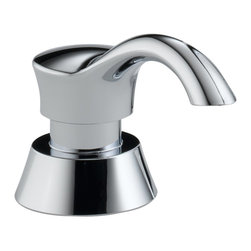 Delta - Pilar Soap/Lotion Dispenser in Chrome - Delta RP50781 Pilar Soap/Lotion Dispenser in Chrome.