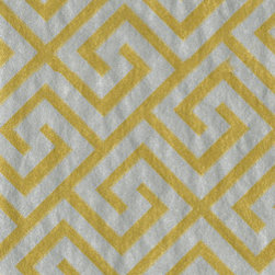 Silver/Gold Greek Key Moderne Paper Guest Towels - These silver and gold Greek key guest towels are perfect for the powder room.