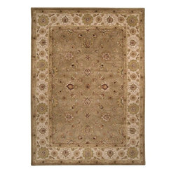 Surya - Surya Crowne Traditional Hand Tufted Wool Rug X-32-0106NRC - With soft and beautiful traditional design details, the Crowne Collection creates a lasting centerpiece that is unparalleled in style and value. Completely hand tufted and hand finished from the finest wool in India, each rug is a radiant treasure that will embellish your home.