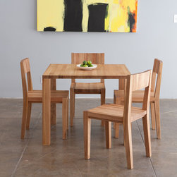 MASHstudios | LAXseries Edge Square Table - Everyone has to eat, but not everyone has a ton of room for a huge table. MASHstudios has you covered with this square dining table. Its modest footprint lets you have friends over without sacrificing precious square footage.