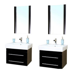 Shop 48 Inch Double Sink Vanity Set Bathroom Vanities on Houzz