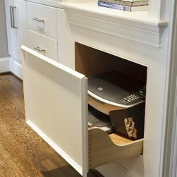 PULL-OUT PRINTER DRAWER CABINET - Call us for an estimate!