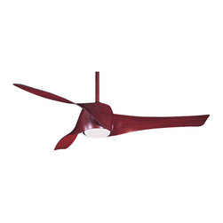 "Frontgate - Artemis Ceiling Fan - 58"" blade sweep with three speed options. Vanes match your chosen finish. Integrated light with one 100-watt mini-can halogen bulb (included). Includes wall control system and cap for non-light use. Also includes 3-1/2"" and 6"" downrods in matching finish. Available in several different finishes, our Artemis Ceiling Fan features a sleek, contemporary design, using three contoured, aerodynamic vanes with an infinite variable pitch. This allows you to determine the force of the air that cools your room. Includes an integrated 100-watt halogen bulb behind etched opal glass, plus a full-function wall-mount control system.  .  .  .  .  . Lifetime manufacturer's motor warranty for the original purchaser or user . Indoor use only . Some assembly required . UL listed ."