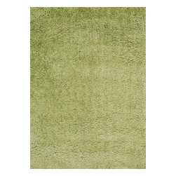 """Loloi Rugs - Loloi Rugs Hera Shag Collection - Green, 7'-6"""" x 9'-6"""" - The Hera Shag Collection offers a fun, innovative take on the classic shag rug. Its interesting strand-like texture and striking colors are the perfect update to the shag category. Customers can choose from a selection of mixed tonal shades from warm to cool."""