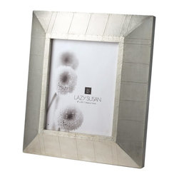 Lazy Susan - Lazy Susan Royal German Silver Wall Frame X-600566 - Made from German silver and wood