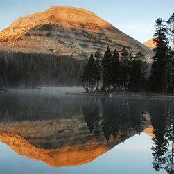MyBarnwoodFrames - Mirror Lake and Mount Baldy Tom Nielson Print, 20x30 - A  stunning  photograph  20x30 size photograph of  Mount  Baldy  reflected  on  the  clear-as-glass  surface  of  Mirror  Lake,  Utah,  USA.  Purchase  this  print  alone,  or  order  it  framed  in  a  solid  wood  frame.                                                                                     Choose  Your  Frame  Style                                                                         250  Classic                                  250  Sangria                                  315  Classic                                                  350  Classic                                  385  Classic                                  385  Espresso                                                  385  Honey  Alder                                  400  Classic                                  400  Honey  Alder