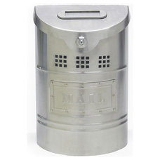 Contemporary Mailboxes Ecco Stainless Steel Mailbox