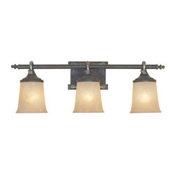 "Designers Fountain - Designers Fountain 97303 Austin Three Light Down Lighting 27.5"" Wide Bathroom Fi - Features:"