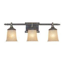 "Designers Fountain - Designers Fountain 97303 Austin Three Light Down Lighting 27.5"" Wide Bathroom Fi - Features:"