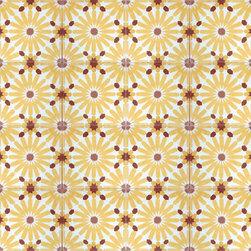 Daisy Cement Tile - BY AMETHYST ARTISAN