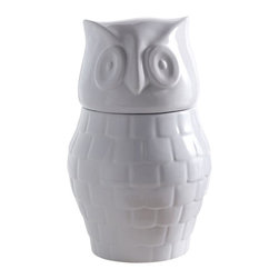 Hootie Cookie Jar - Hoo stole my cookies?  Bring a little quirk to your kitchen with this unique treat container.